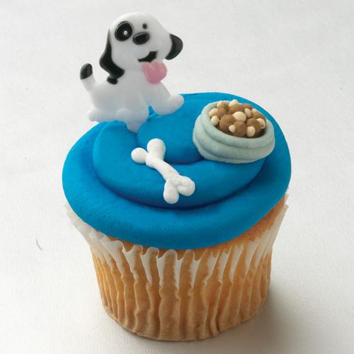 puppy koekje, cupcake