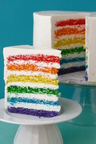 arco iris Cake