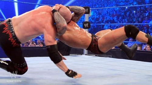 Randy orton Smackdown 22nd-7-11