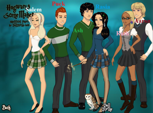 Rasia and Ash And PUck and SAlem And Ruth and Aaron