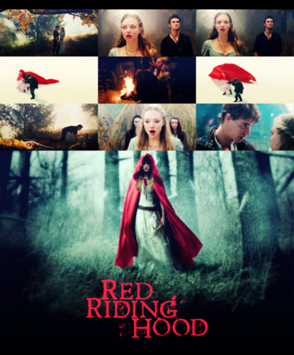 Red Riding kap, hood