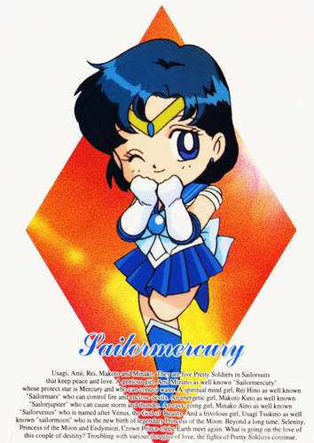 Sailor Mercury चीबी