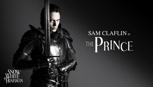 Sam Claflin - Official Promo Picture Snow White and The Huntsman