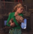 Sam holding a possum - samantha-puckett photo
