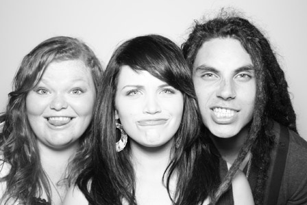 Samuel Larsen wallpaper containing a portrait titled Samuel,Lindsay,and Hannah