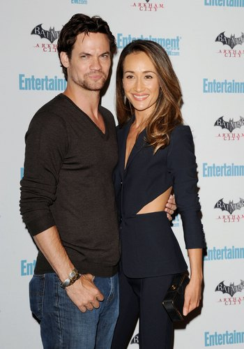 Shane & Maggie at Comic Con.