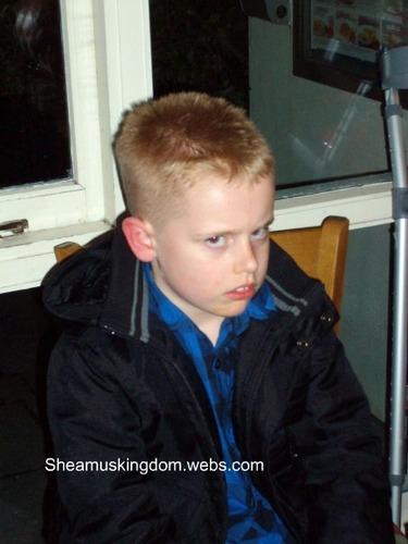 Sheamus as a child