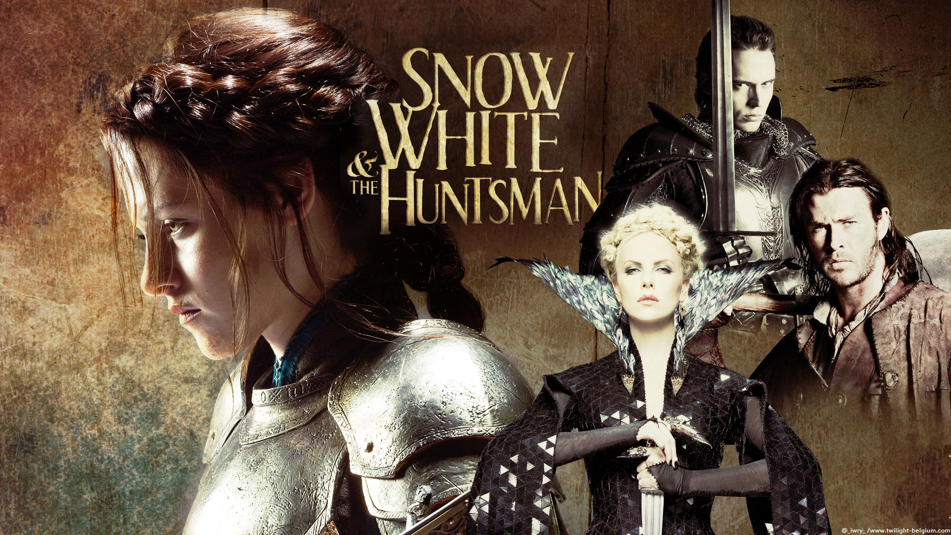 Percy White Snow And Huntsman 2