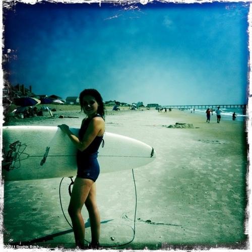 Sophia Surfing