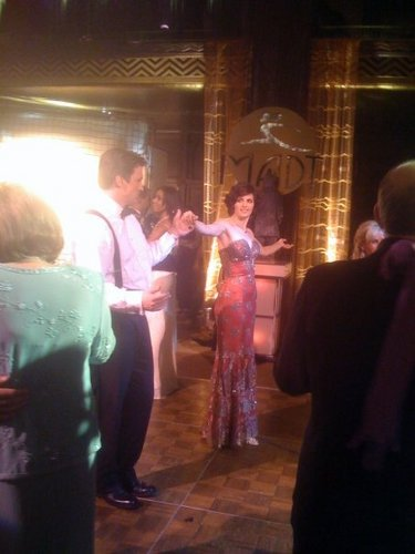 "Stanathan Rehersing Their Dance for ""Home is Where the cœur, coeur Stops"""