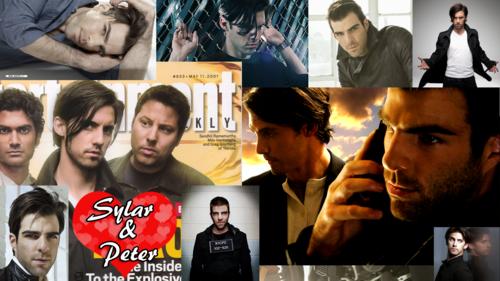 Sylar and Peter Playstation 3 HD fond d'écran