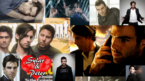 Sylar and Peter playstation 3 HD fondo de pantalla