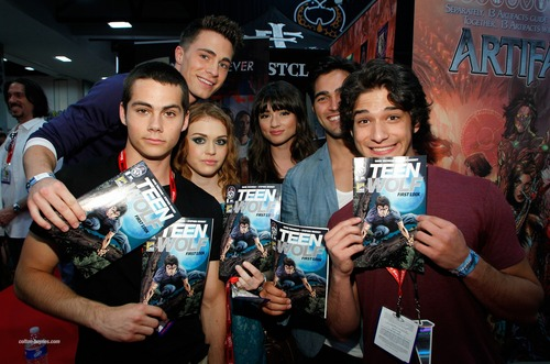Teen Wolf wallpaper with anime called Teen Wolf - Comic Con♥