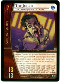 The Joker Power Card