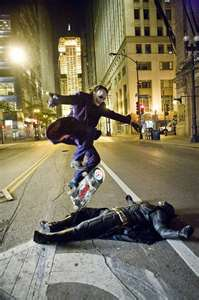 The Joker Skateboarding