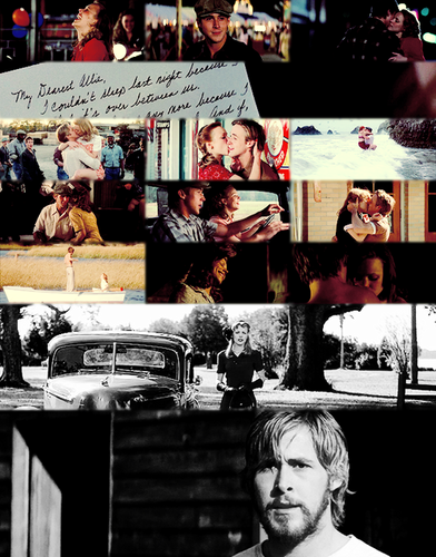 The Notebook wallpaper possibly containing a sign, a diner, and a newspaper entitled The Notebook