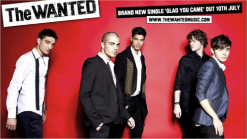 The Wanted- Glad 你 came