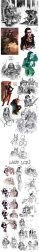Thor Sketchdump ll