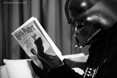 Vader पढ़ना Harry Pottor