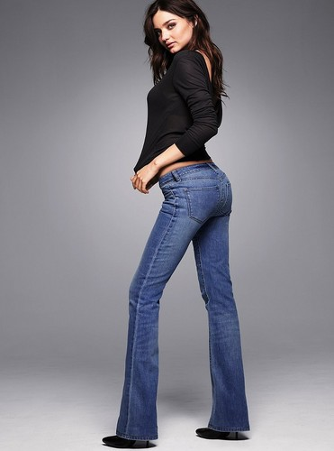 Victoria's Secret Jeans Photoshoot