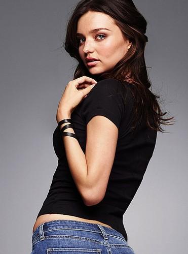 Victoria's Secret Jeans Photoshoot