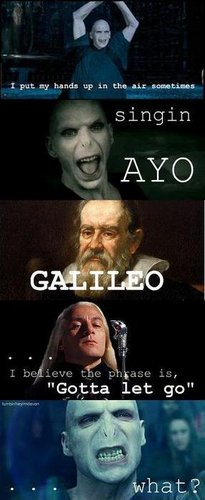 Voldy singing...
