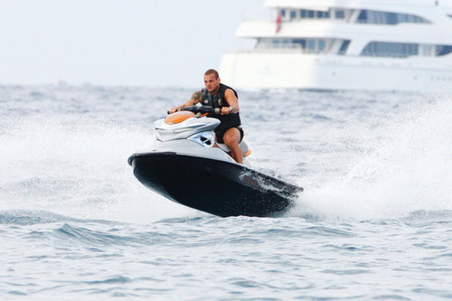 W. Sneijder at St. Tropez