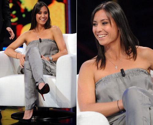Flavia Pennetta in Flashing Smile