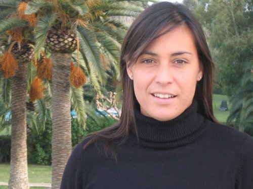Flavia Pennetta in Her Personal Oasis