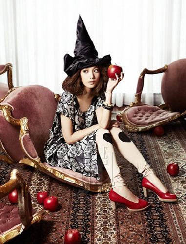 Yoon Seung Ah Elle Girl June 2011