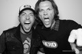 Zac&Jared Padalecki- Nerd HQ- Comic Con 2011 - zachary-levi photo
