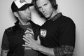 Zac&Jared Padalecki at NERD HQ- Comic Con 2011 - zachary-levi photo