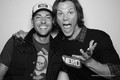 Zac&Jared Padalecki at NERD HQ- Comic Con 2011