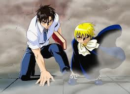 Zatch and Kiyo