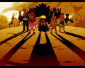 Zatch and other Mamodos - zatch-bell-and-kiyo wallpaper