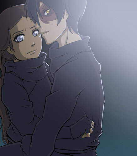 Zuko and Katara ninja