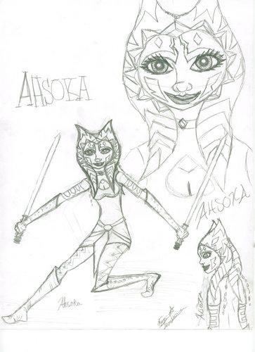 askoka người hâm mộ art bởi jennawolf48