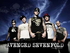 Avenged Sevenfold wallpaper containing anime titled avenged sevenfold poster