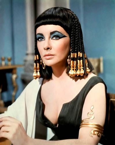 egypt is a heaven wallpaper probably containing a portrait called cleopatra by liz taylor