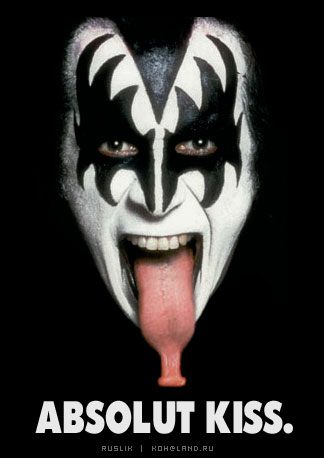 KISS wallpaper entitled gene