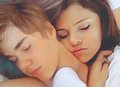 jelena sleeping - justin-bieber-and-selena-gomez photo