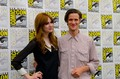 matt and karen at comic con