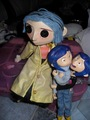 my coraline's stuff  xD - coraline photo
