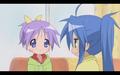 ponytail Tsukasa and Konata
