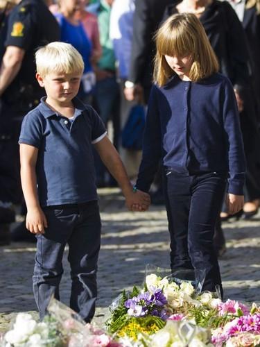 prince Sverre Magnus and princesse Ingrid Alexandra
