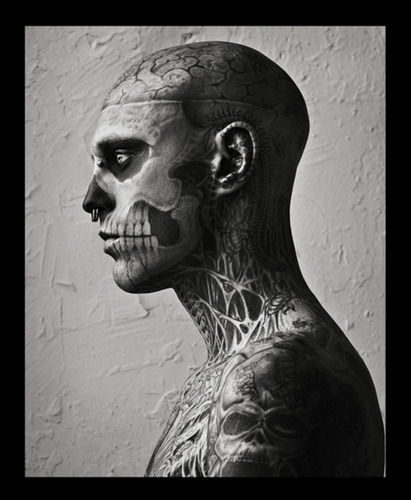 rick genest - rick-genest Fan Art
