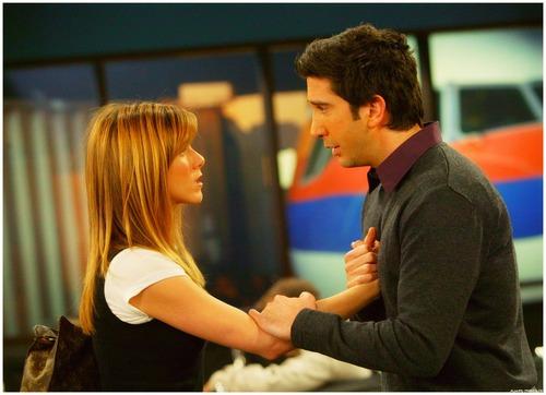 Ross and Rachel wallpaper titled rr