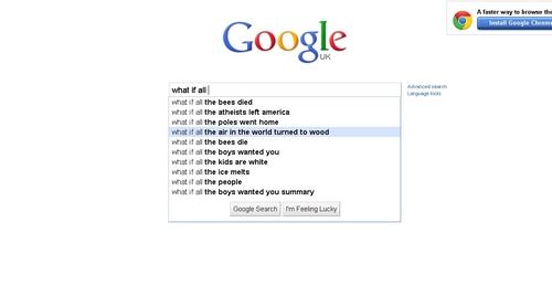 strange autocomplete suggestions