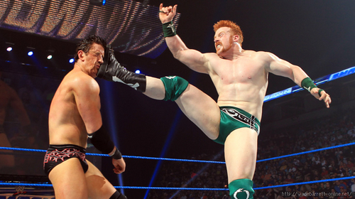 Wade Barrett wallpaper titled wade barrett vs sheamus