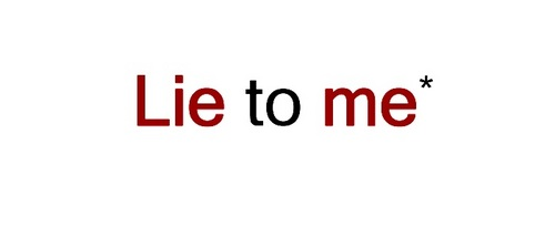 Lie to Me wallpaper titled 'Lie To Me' Logo